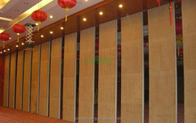 High End Private Club Sliding Sound Insulation Mobile Wall Partition