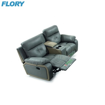 2 Seat Recliner Sofa With Cup Holder