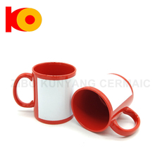 Unique style blank enamel multi sublimation mug