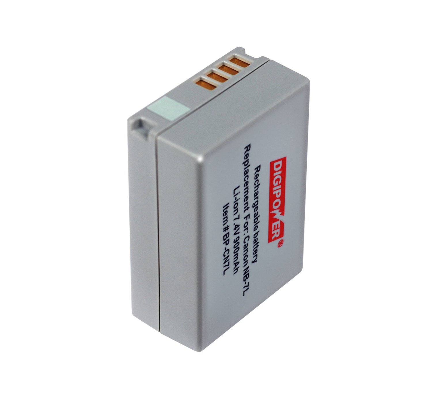 Digipower BP-CN7L Replacement Li-Ion Battery for Canon NB-7L for use with Canon G10 & G11 Digital Cameras