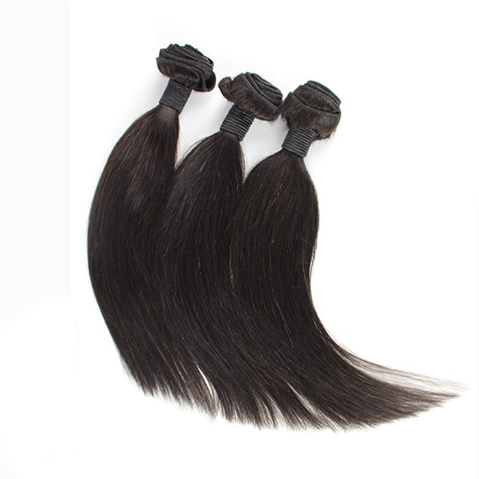 Free Shipping 12 to 24 Inch10A Black Straight Hair Wefts фото