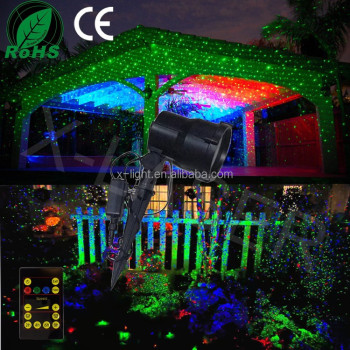 garden laser landscape light moving firefly with wireless remote control rgb