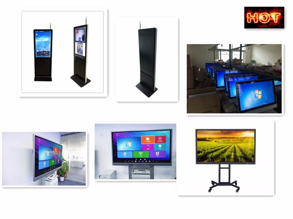 Touch TV&PC All-in-One with real fillms for multi-touch