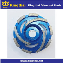 Grinding wheel for concrete masonry and firebrick