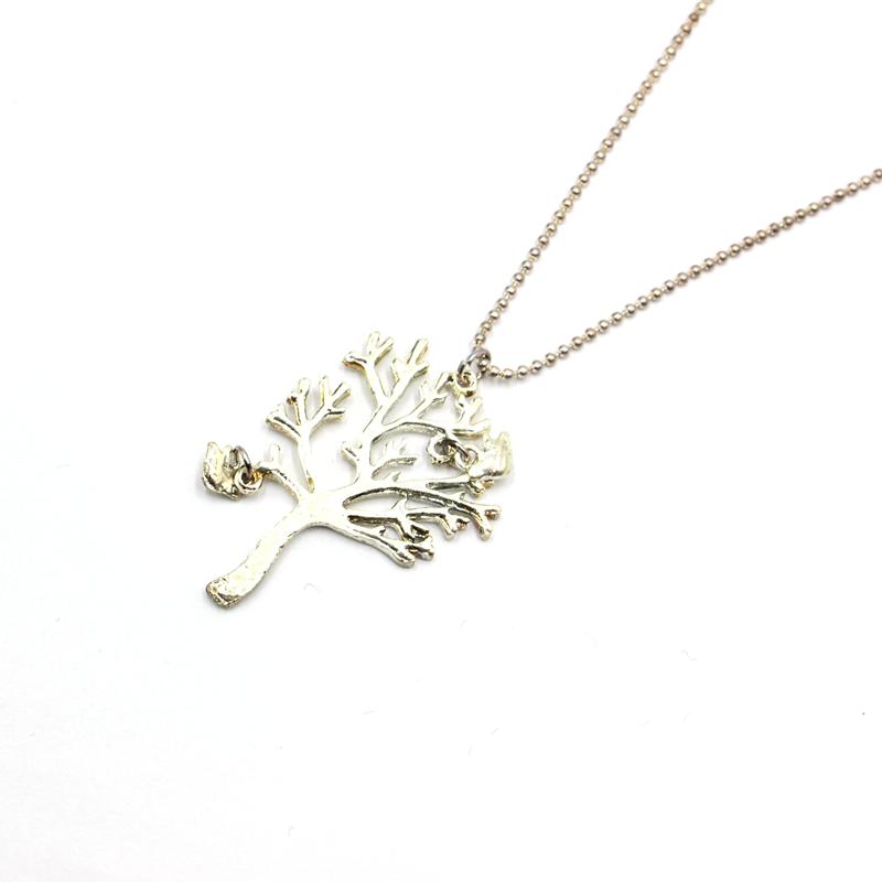 Tree necklace charm love natural peaceful bird spirit of life bangle keyring