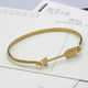 2018New love women and men charm stainless steel hook bangle bracelet