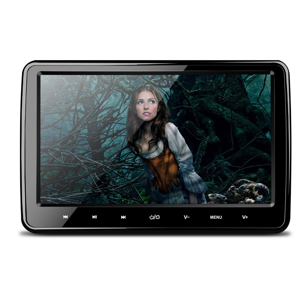 "2015 Xtrons New sell-10.1"" HD Screen Car Headrest DVD Player with HDMI Port-HD101"