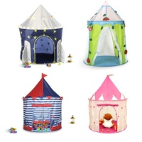 Princess Castle Rocket Ship teepee Pop Up indoor and outdoor fun kids Play tent house