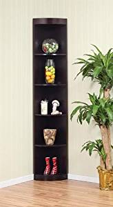 Get Quotations · Enitial Lab 10370C Tray 5-Shelves Corner Display Cabinet-Stand in Coffee Bean Finish & Cheap Pine Corner Display Cabinet find Pine Corner Display Cabinet ...
