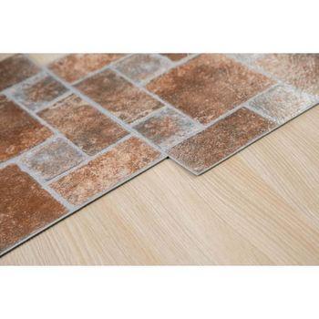 Self Adhesive Vinyl Floor Tilesfire Proof Vinyl Flooringheat