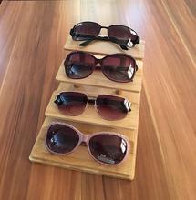 8slot degli occhiali da sole occhiali Storage Case con coperchio in vetro a forma di scatola per stoccaggio e presentazione di occhiali da vista 9Hq0q8CTnK