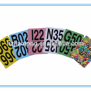 good quality popular paper game cards