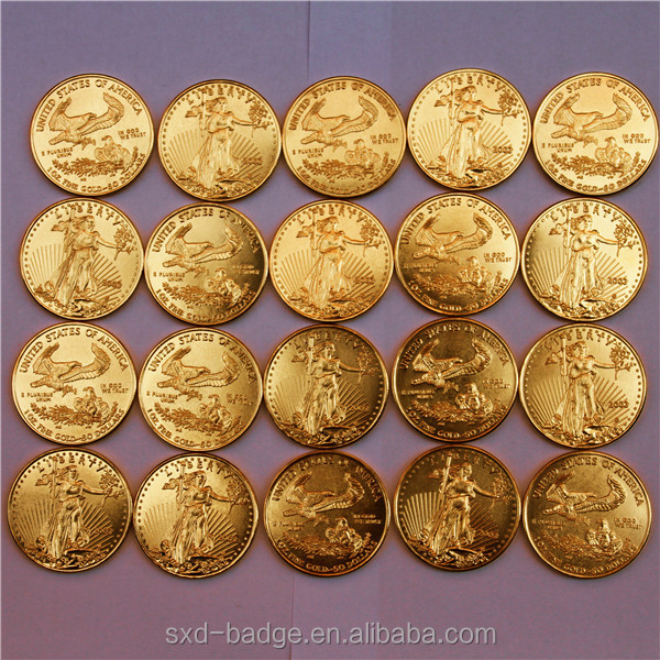 Wholesale Us 50 Dollars 1 Oz Gold Coin Tungsten Replica