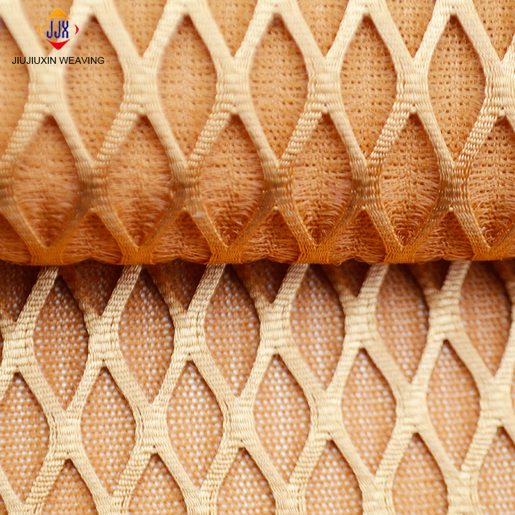 High permeability Knitted 3d air mesh fabric for seat covers shoes