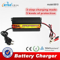 Battery charger 3 stage 220v ac to dc battery charger 12v 10a