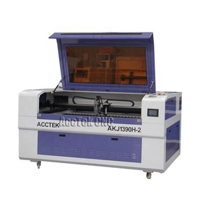 cnc AccTek 1390 6090 co2 280w metal tube laser cutting machine for metal and non-metal