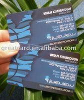 UV printing business name card