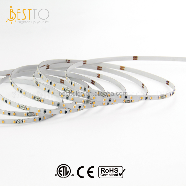 ETL / CE / RoHS approval 4mm mini size PCB Led Strip Lighting 2216 Led Strip light 120 Leds Per Meter Led Strip