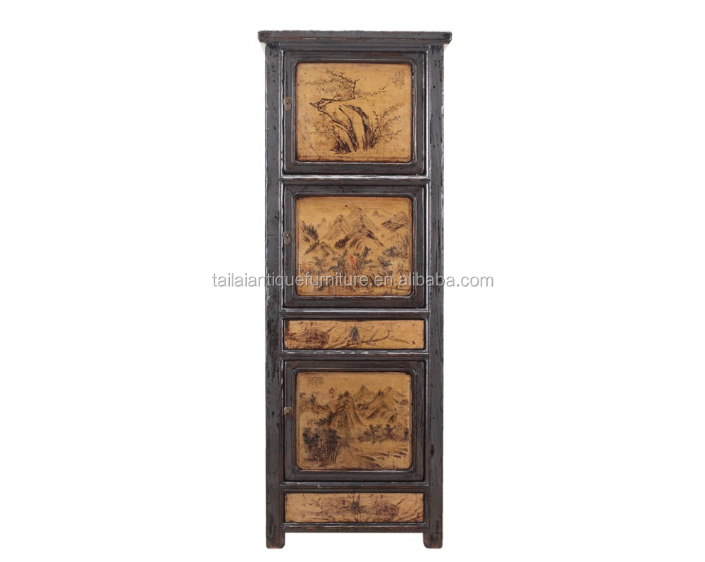 Beijing Tall skinny storage cabinet home pantry cupboard