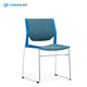 Modern High Quality Lounge Plastic Seat PP Plastic Chair Dining Chair With Metal Legs