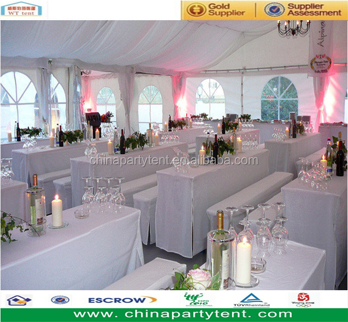 Outdoor Wedding Party Tent for 1000 people with Waterproof & Flame Retardent