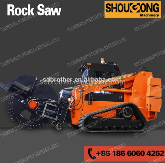 Micro Trencher for optical fiber cable laying in urban areas