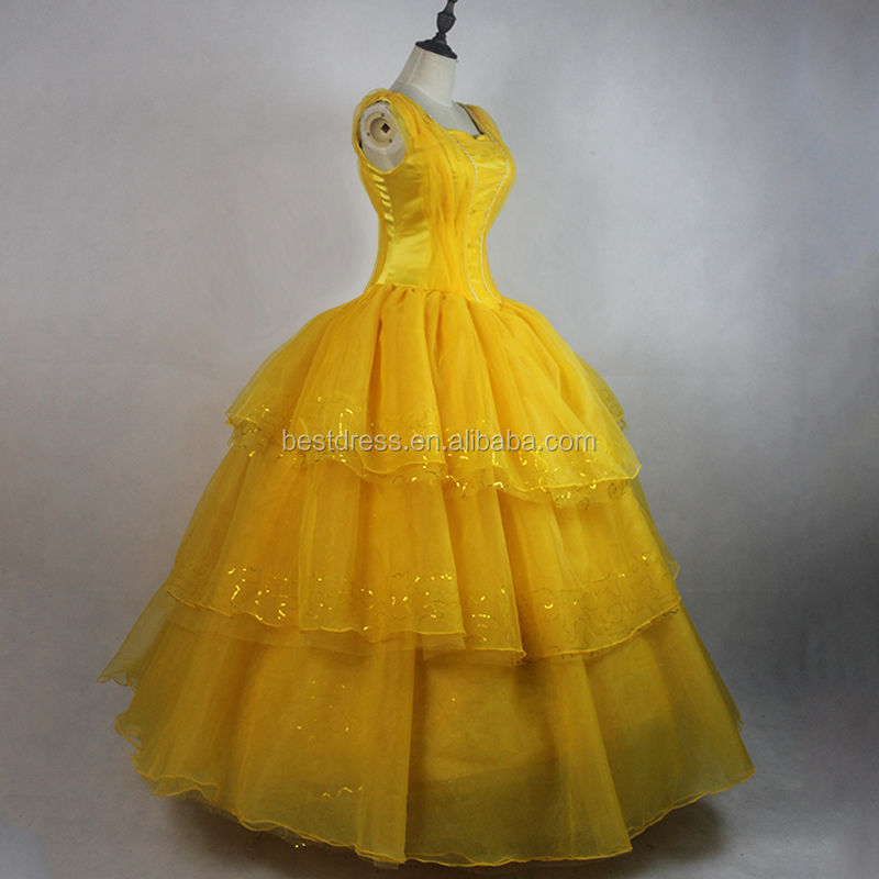 Grossiste robe belle et la bete acheter les meilleurs robe belle et la bete lots de la chine - Robe la belle et la bete adulte ...