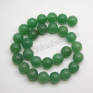 Natural 8mm stone beads jewelry making green aventurine