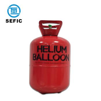 How to use helium balloon tank