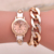 Hot Sale Luxury Vogue Ladies Wrist Watch Bracelet Watch Alloy Vogue Women Watch