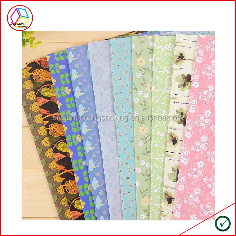 High Quality Types Of Gift Wrapping Paper