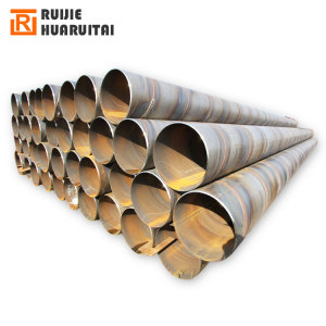 Thick wall spiral welded ms steel pipe required in bulk