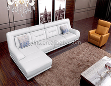 Small Size Luxury living room leather sofa for sale