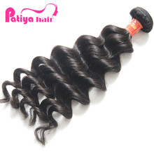 Top Quality brazilian virgin Hair Extension natural wave hair products