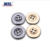 Wholesale Custom Flatback Gold 4 Holes Metal Kurta Buttons For Shirt
