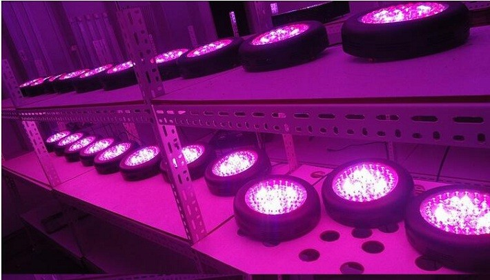 Hot Full Spectrum Hydroponic UFO LED Veg Flowering Grow Light LED grow lights Hydroponic indoor Excellent Material grow LED ligh