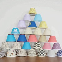 Colorful TC Lighting Accessories LED Plastic Lamp Shade