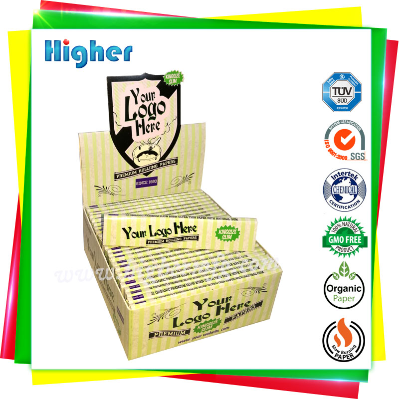 Customize your own brand namecard use smoking rolling paper