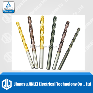 High Speed Steel Roll Forged Black Oxide Polished Drill Bits
