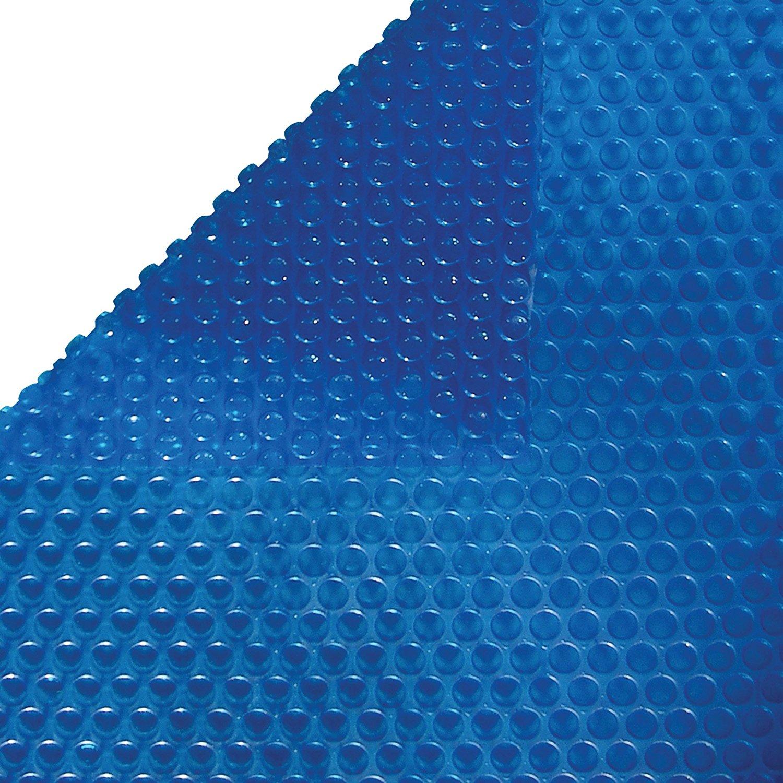 Harris 16 ft x 32 ft Oval Solar Cover - Blue - 8 Mil