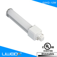 Bombilla g24 g23 2 pin led lamp 4 pin g24 led bulb 8w6w12w