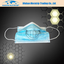 2017 New Year Christmas Gift Funny Design Disposable Face Mask For Dentists