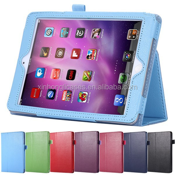 Book Style Leather Case For iPad mini Tablets Accessories Fashion Smart Elegant Stand Holder Cover for ipad mini 1 2 3