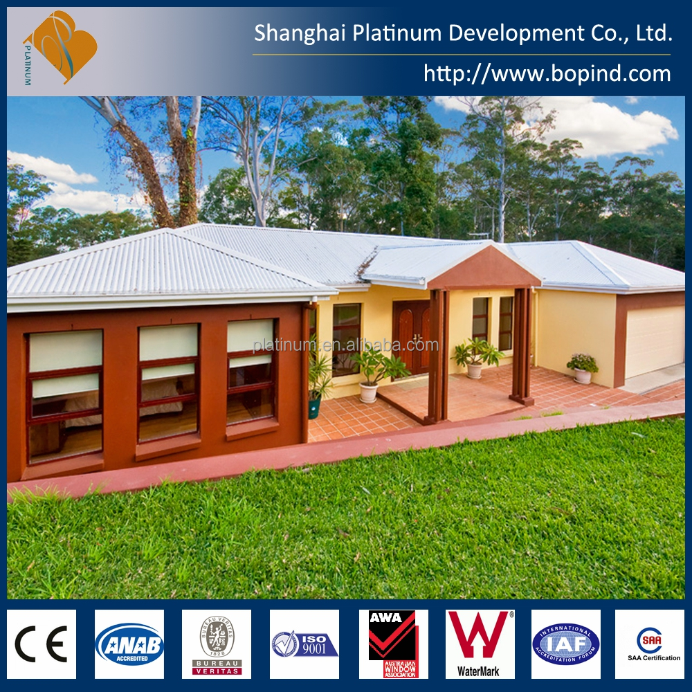 Modern Prefabricated Two Storey Prefab House