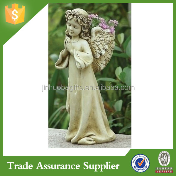 Beautiful Customized Garden Decoration Kid Boy Angel Statue