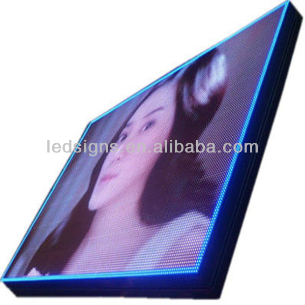 P7.62 electronic digital SMD LED video wall screen