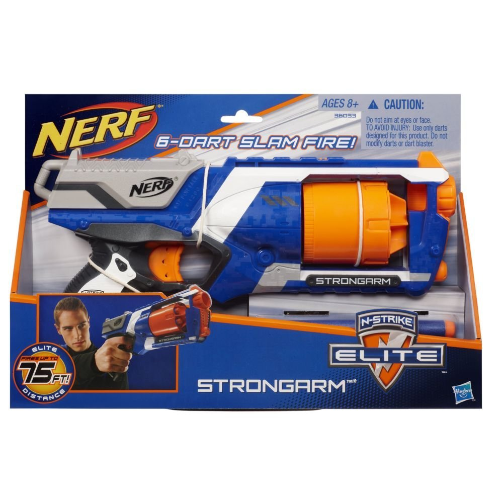 Amazing Nerf N-Strike Elite Strongarm Blaster by Hasbro