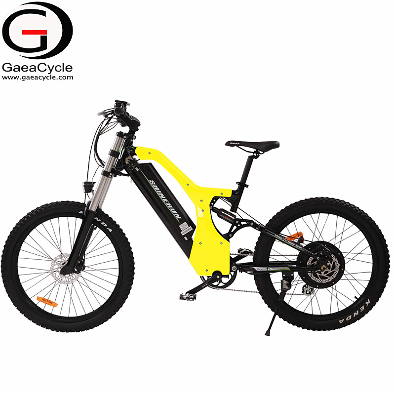 Gaea electric bike 48v made in china fat tire mountain ebike lithium battery dirt bicycle