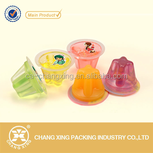 Easy peel off roll plastic PP/PET/PS cup container lidding film