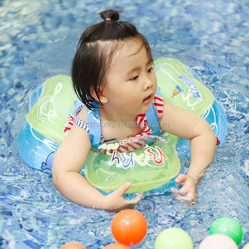 Dependable Safety Baby Neck Float Swimming Newborn Baby Swimming Neck Ring With Pump Gift Mattress Cartoon Pool Swim Ring For 0-24 Months Quality And Quantity Assured Swimming Pool & Accessories